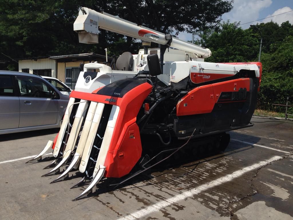 KUBOTA RICE HARVESTER